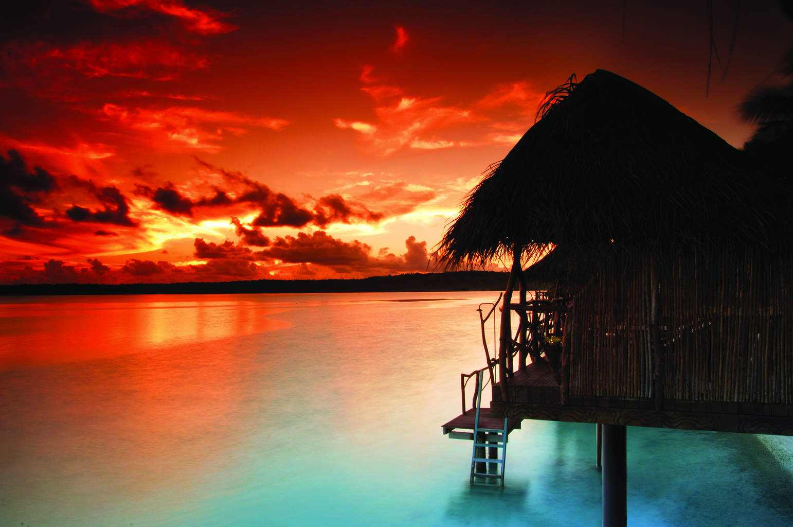 Visit the cook islands in the south pacific travel for Sunset lodge