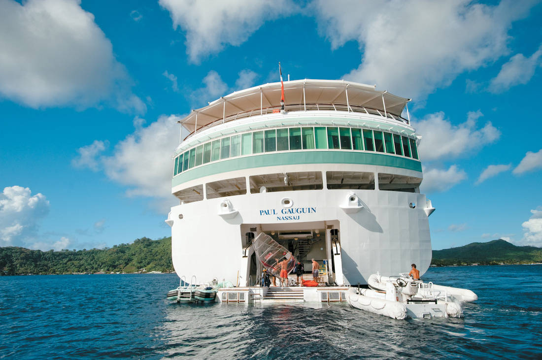 Cruise French Polynesia Paul Gauguin Cruises Travel Pacific Agency - Ms paul gauguin