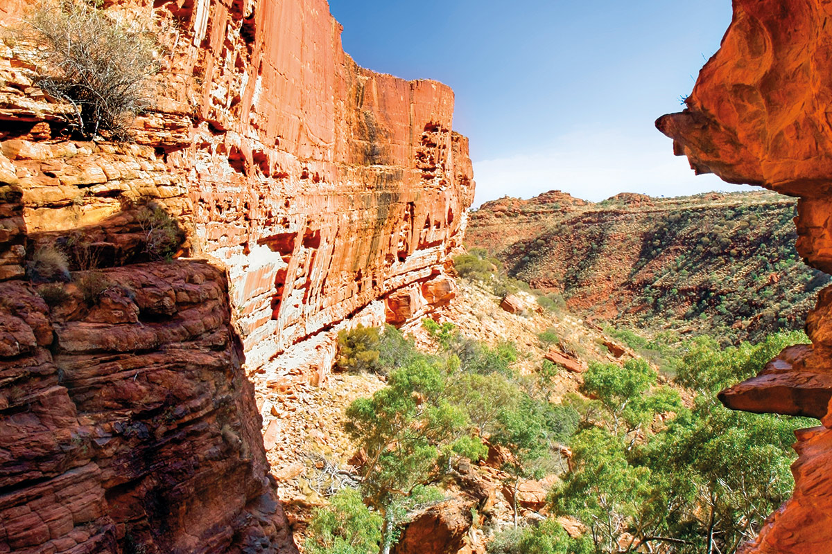 Kings Canyon Northern Territory Australia Travel Pacific